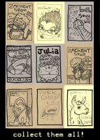 friend trading cards by fooness