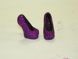 Second set of shoes by MonstrousHair