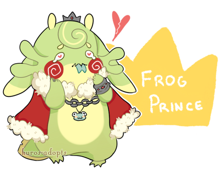 (OPEN) DTA Axolgooey Frog Prince [FTO Only] by kuros-adopts