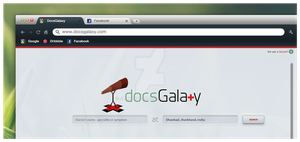 DocsGalaxy Home Page concept by jamalaftab