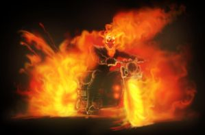 The Ghost Rider by Grange-Wallis