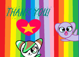 Thanks! by PiperMagician