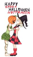 Halloween - Harley and Ivy by Yosh-chan