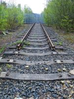 Rails to Nowhere by Spinneyhead