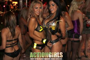 Actiongirls Kitta and Jessica by ScottyJX