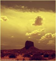 Monument Valley I by Erinti