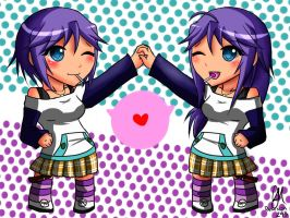 Before and After Mizore Chan Rosario+Vampire by daninja293