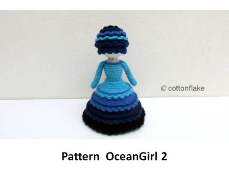 pattern OceanGirl2 by cottonflake