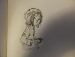 Not liking it so much, but another Noodle doodle. by lXxLinkinxXl