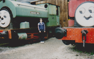 me by Haverthwaite sheds by WhippetWild
