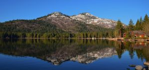Donner Lake Reflection by Marilyn958