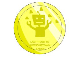 LastTrain to Awesometown Badge by RyuPointGame