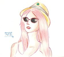 Princess Bubblegum - Hipster by SirScm