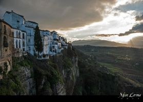Sunset in Ronda by MonLerma