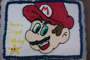 Mario Cake by Trippinalice