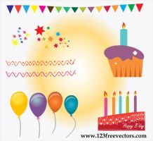 Birthday Cake Vector by 123freevectors