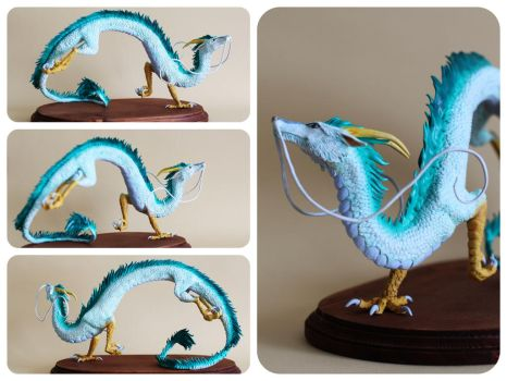 [Comission] Haku Sculpture by RedPersik