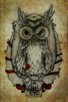 Final Mr. Owl by RILLAH