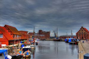 Wismar habour by chevyhax