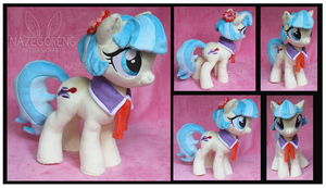 Coco Pommel Custom Plush by Nazegoreng