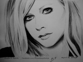 Avril Lavigne by Art-SKF