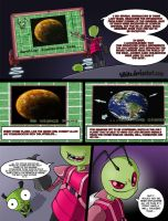 Invader Zim: Conqueror of Nightmare Page 3 by Blhite