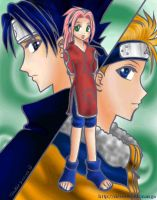 Naruto - The Team by torikat