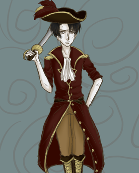 Captain Rivaille by Mikuri-chan18