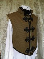 Steampunk-Victorian waistcoat PCW 12-1 by JanuaryGuest