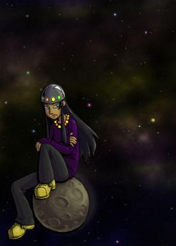 Floating in Space by yonjuunana