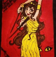 Queen of Wands by TheIvoryPrincess