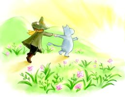 Moomin- Summer by Laura-MI