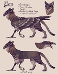 Enyo ref sheet by fancypigeon