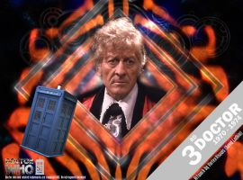 Doctor Who 50th Anniversary - The 3rd Doctor by VortexVisuals