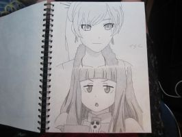 Weiss and Anya by XxSgtCampbell