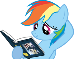 Reading Rainbow by RyokoHaze