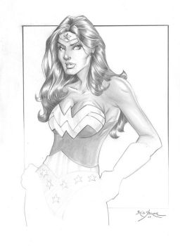 Wonder Woman Sketch by gravyboy