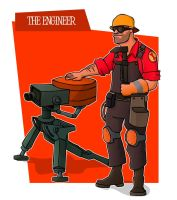 TF2 Engineer by MaDTaV44