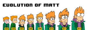 Evolution Of Matt by SuperSmash3DS