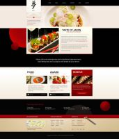 Taste of Japan  Restaurant / Food WordPress Theme by freewordpressthemes