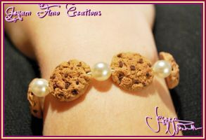 Miniature Cookies Bracelet by Jeyam-PClay
