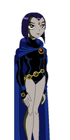 Raven from 'Teen Titans' by Gamekirby