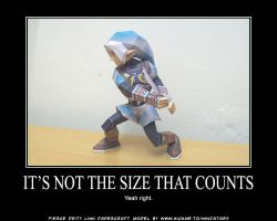Not the size that counts... by ninjatoespapercraft