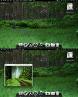 Mac OSX Lion Forest Desktop by lew0808