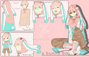 Adoptable 10 .:A Bunny Boy:. AUCTION CLOSED by s-p-ri-ng