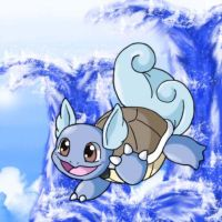 Wartortle Used Hydro Pump by chikadee34