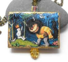 Where the Wild Things Are Necklace by sojourncuriosities