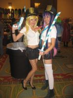 Anime Vegas Panty and Stocking by Demon-Lord-Cosplay