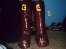 Link Boots -Duct Tape- by dbgtrgr