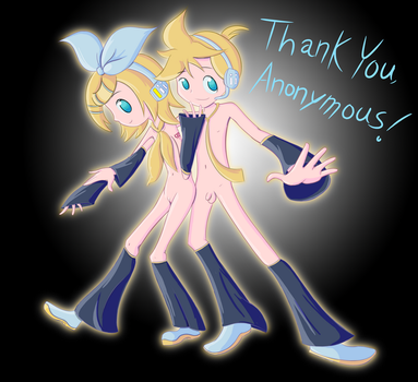 Thank You, Anonymous! (December) by GlitchyReal